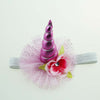 Baby Shower Party Decoration Unicorn Horn Hair Accessory Headband
