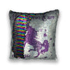 """Make Your Own Magic"" Sequin Cushion"