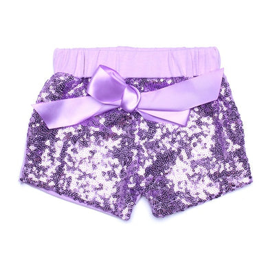 Toddler Baby Girls Hot Pink sequin shorts