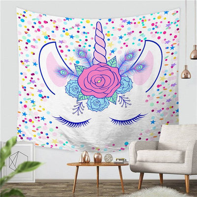 Magical Unicorn Tapestry