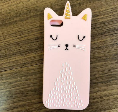 3D Cute Cartoon Phone Case