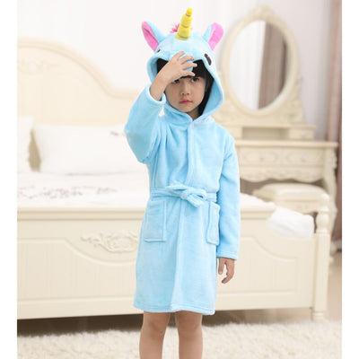 Unicorn Bathrobe For Boys And Girls