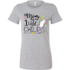 Mom of the wild Child Bella Womens Shirt