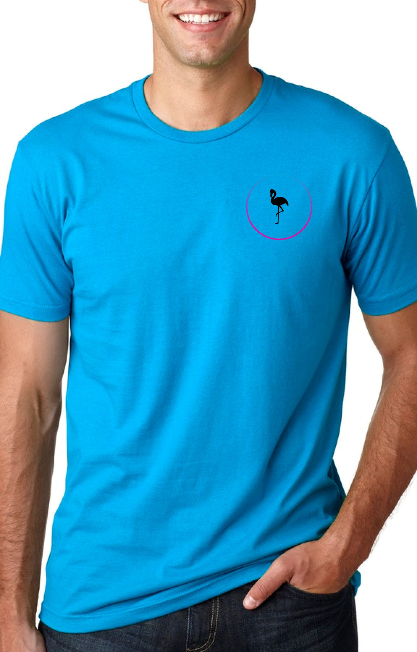Native Flamingo GeoFrame Pocket Logo