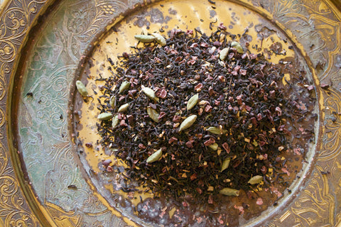 Smoky bramble tulsi tea
