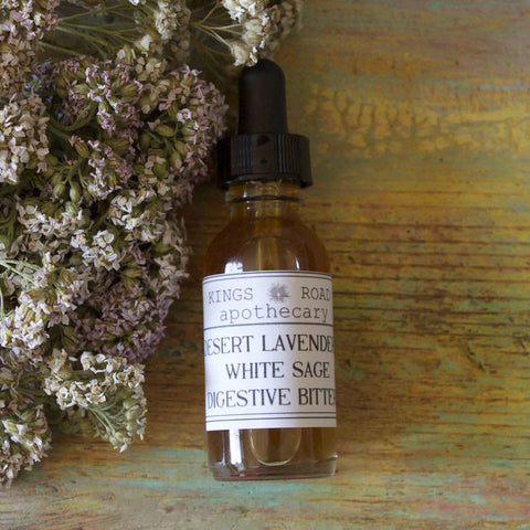 Desert Lavender and White Sage Digestive Bitters