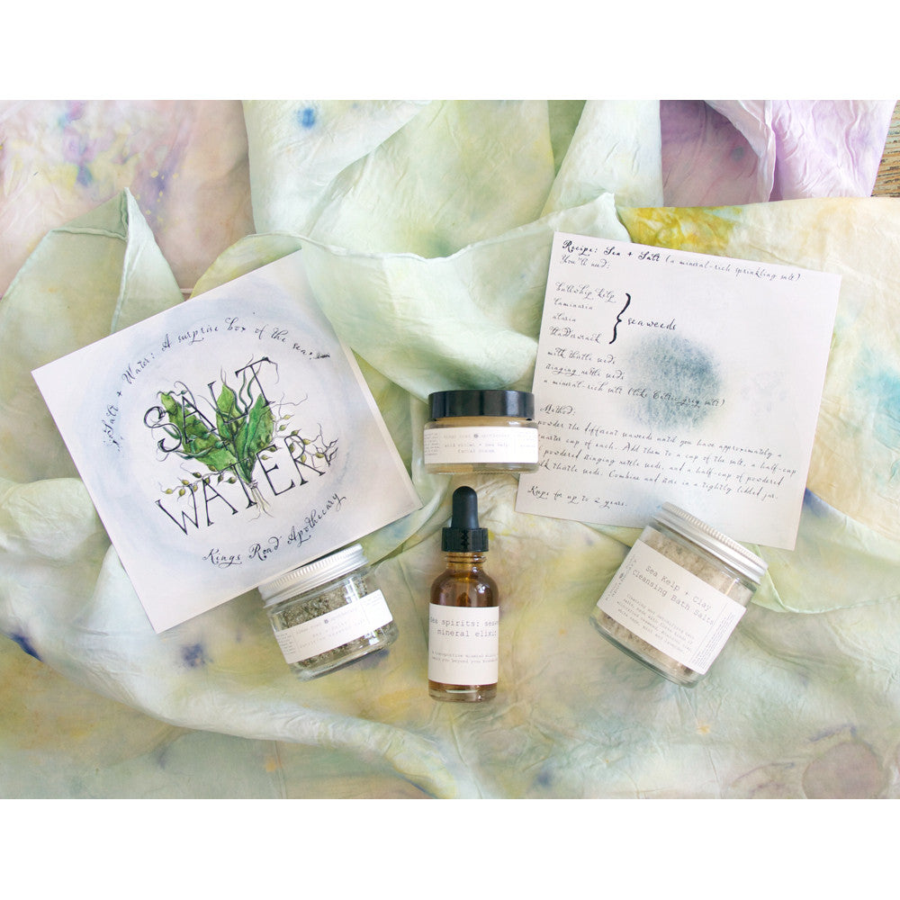 Unfurling + Green: a box of new beginnings