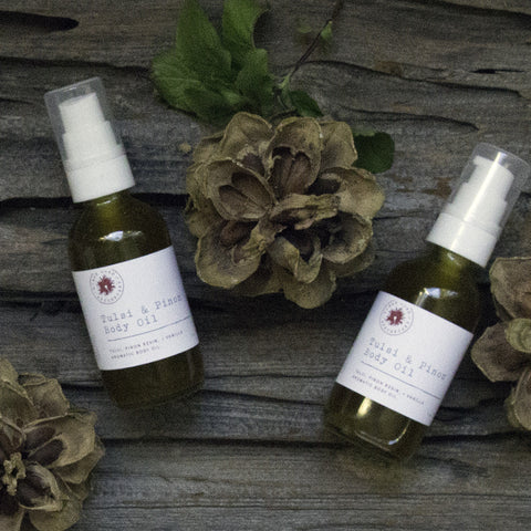 Tulsi + Pinon Body Oil