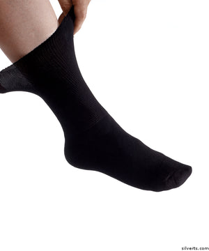 Mens Diabetic Socks - Diabetic Foot Edema Socks - Diabetic Dress Socks