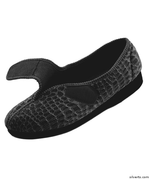 30aede08d202 Womens Extra Wide Comfort Slippers - Womens House Slippers With Adjustable  Closures