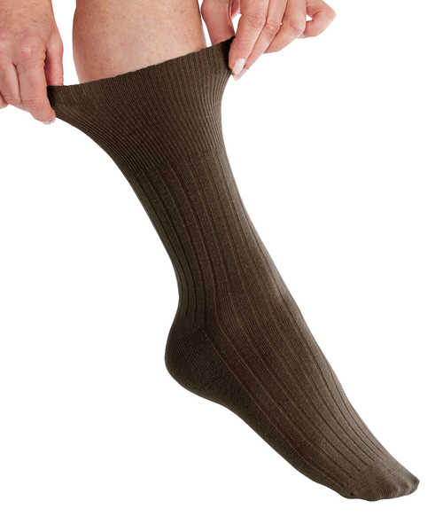 Womens Diabetic Socks - Diabetic Foot Edema Crew Socks