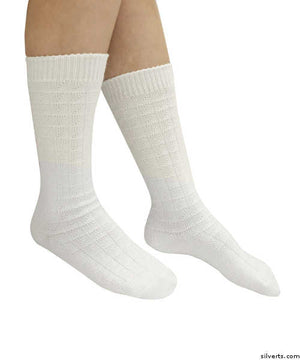 2 - Pack Lightweight Stretch Socks For Swollen Feet And Ankles - Two Pairs Per Package