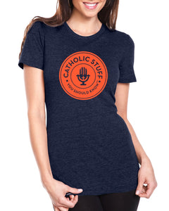 Women's Crew Neck Logo Shirt