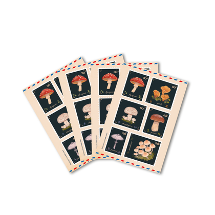 Mushroom Stamps [STICKERS]