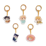 JOJO x Neko Atsume charms  (key ring)