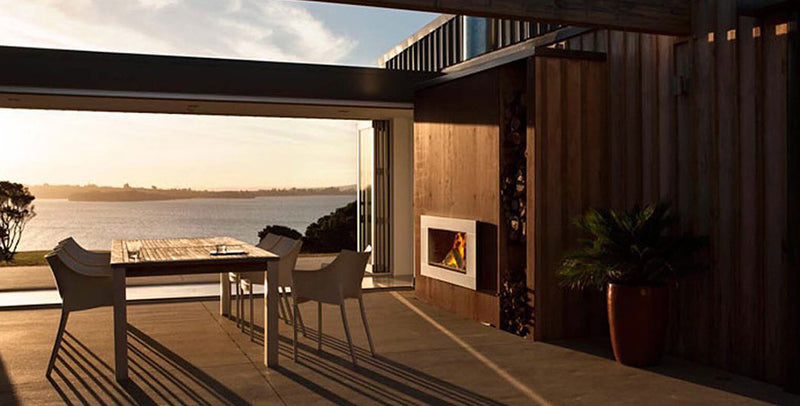 Escea EW5000 Outdoor Wood Fireplace