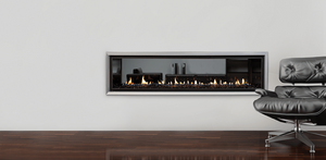 Escea DX1500 Double Sided Gas Fireplace