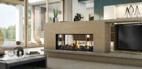 Escea DS1150 Gas Fireplace - Double Sided