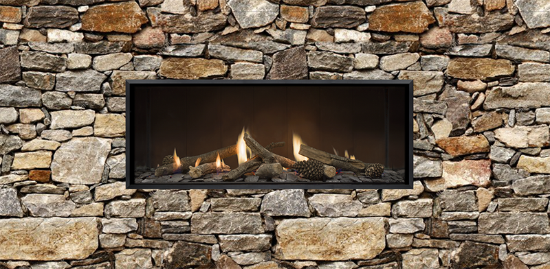 Escea DS1150 Gas Fireplace - Single Sided