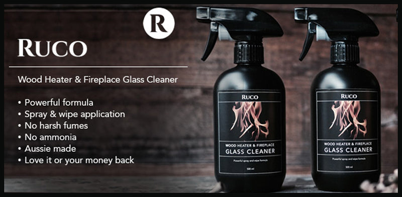Ruco Wood Heater & Fireplace Glass Cleaner