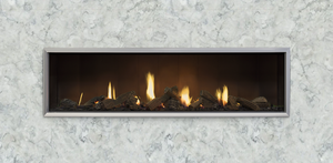 Escea DS1650 Gas Fireplace - Single Sided