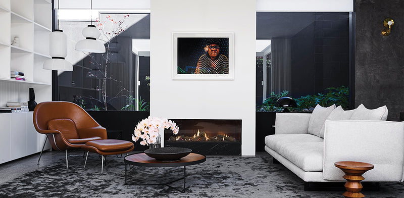 Escea DS1400 Gas Fireplace - Single Sided