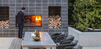 Escea EK950 Outdoor Wood Fireplace
