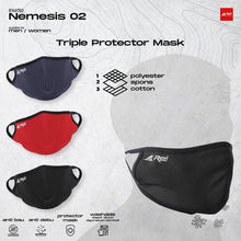 Load image into Gallery viewer, Masker Triple Protector Mask ( 5 Pack )