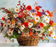 Flowers In Basket Paint 5d Diamond Painting Cross Stitch UK VM08598