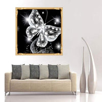 Modern Art Dreamy 5d DIY Diamond Painting Butterfly Kits UK Best Gift VM90210