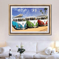 Hot Sale 5d Diy Cars UK Rhinestone Diamond Painting VM2057