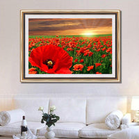Hot Nature Flower Diy 5d Diamond Embroidery Painting Kits UK VM8708