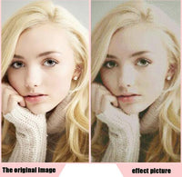Portrait Photo Custom 5D DIY Diamond Painting Embroidery Cross Stitch Kits UK NA0616