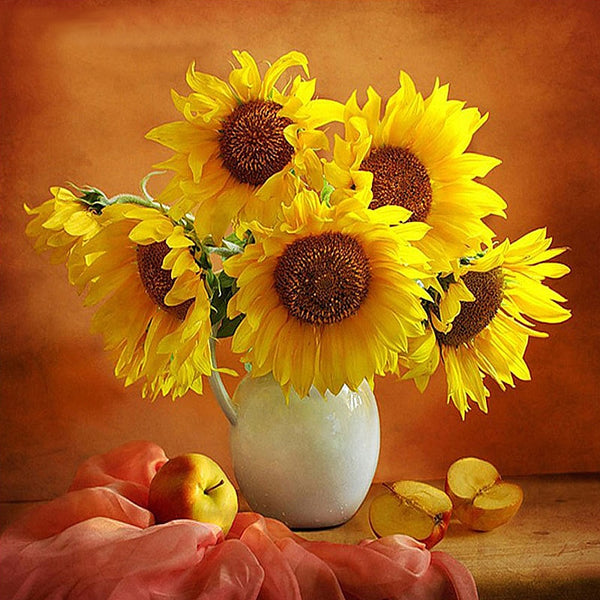 Sunflower Fruits Full Drill 5D Diy Diamond Painting Kits Uk VM92009