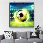 Dream Full Square Drill Football 5D DIY Diamond Painting Embroidery Kits UK NA0624
