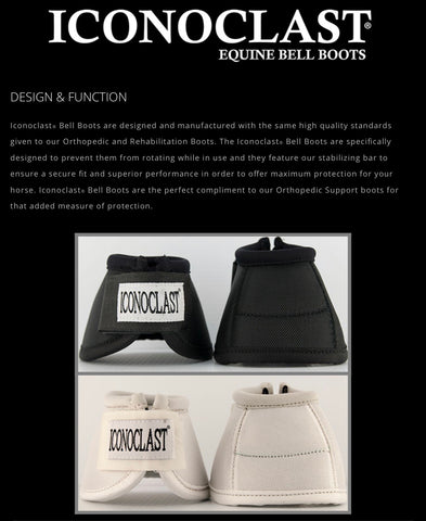 Iconoclast Bell Boot White