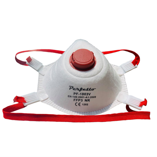 Particulate Respirator - 4 Layer Melt-Blown Fabric FFP3 Mask - 10 PIECES / 1 BOX