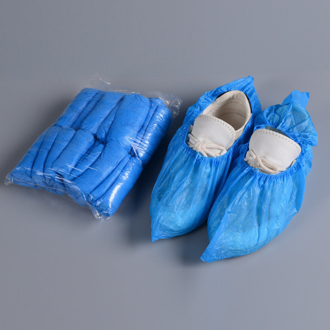 PE SHOE COVER - 100 PIECES / 1 PACK