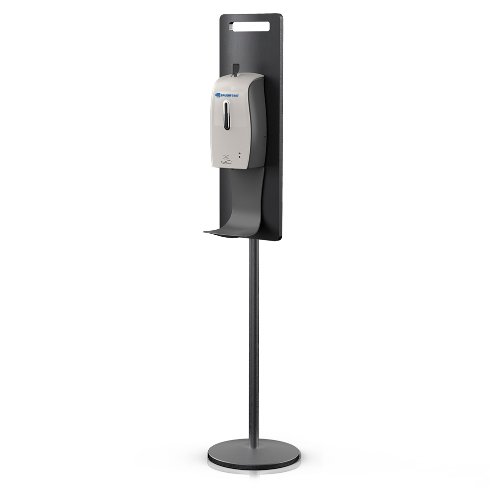 Free Standing Touch Free Hand Sanitizer Dispenser