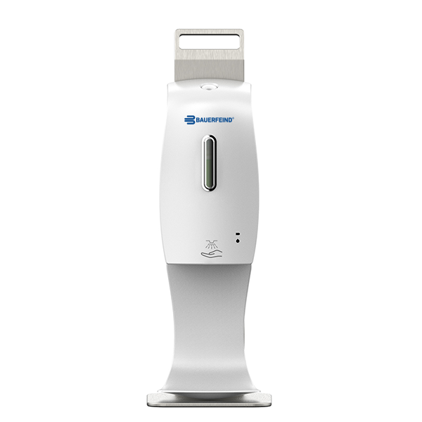 Touch Free Hand Sanitizer Dispenser + Desktop Holder
