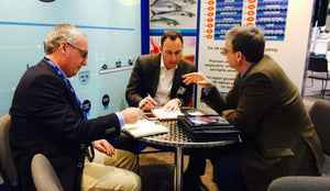 Glenarm Organic Salmon Team at Seafood Expo North America.
