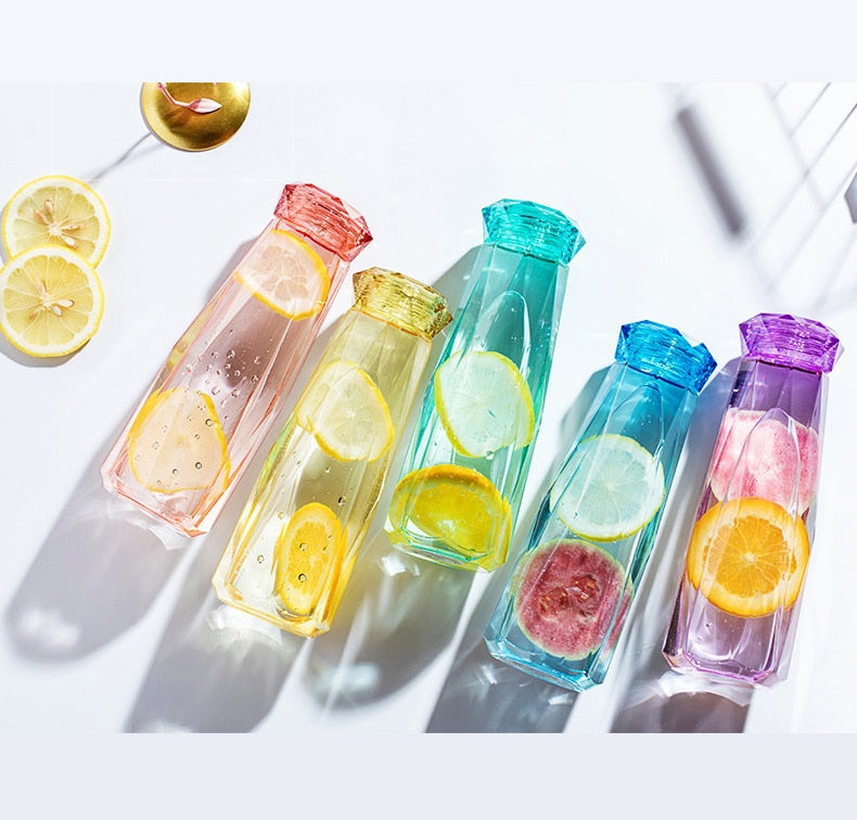 Crystal Gemstone Water Bottles