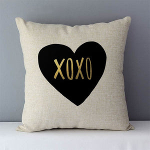 Lettering Cushion Cover