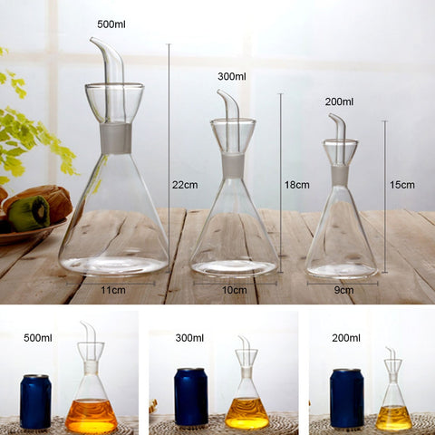 Glass Oil Bottle