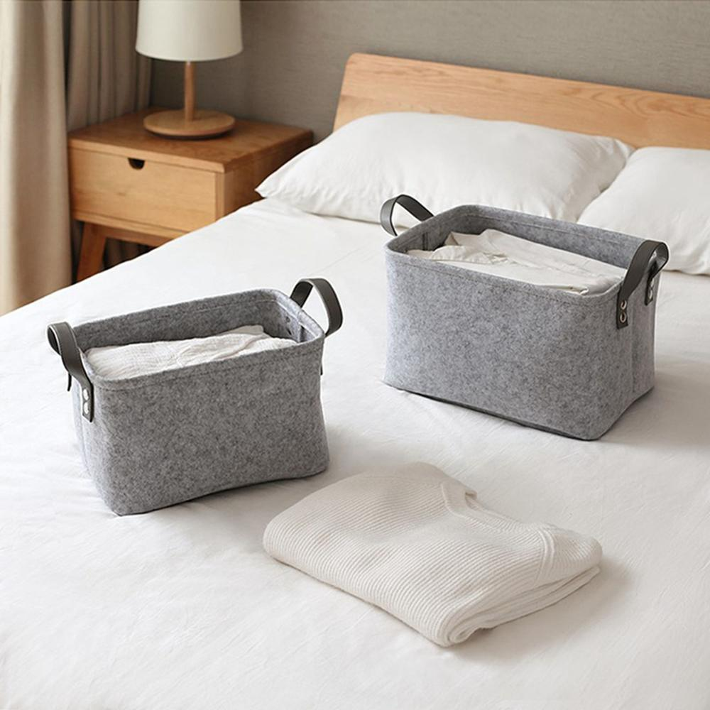 Foldable Felt Basket