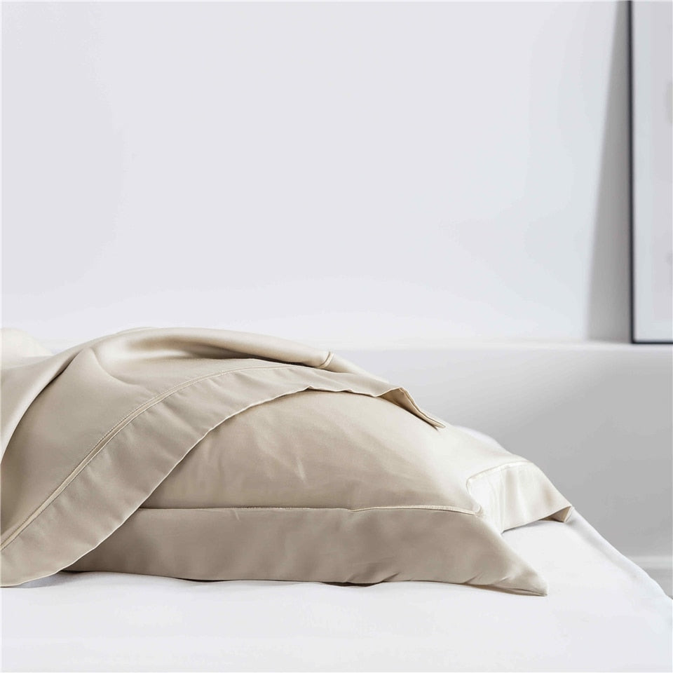 Cream Silk  Pillowcase