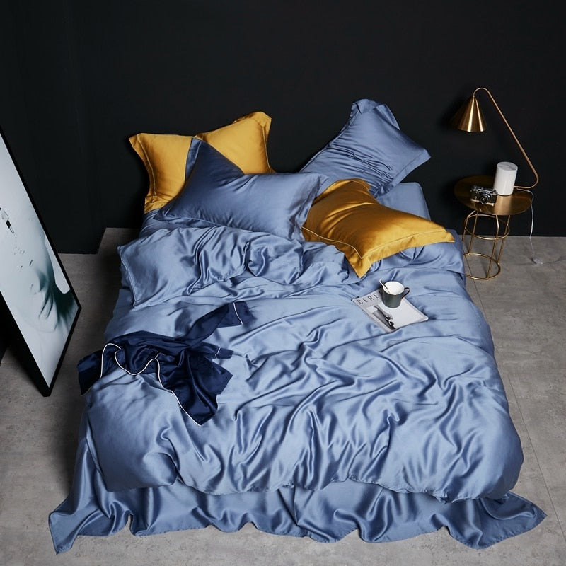 Blue Icy Bedding Set