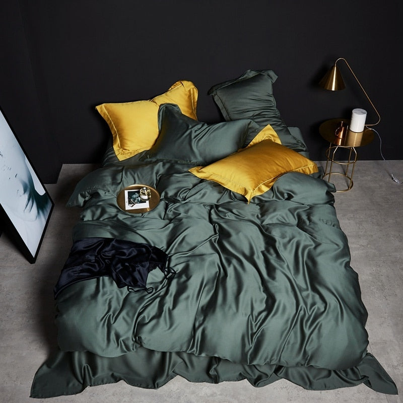 Forest Green Bedding Set