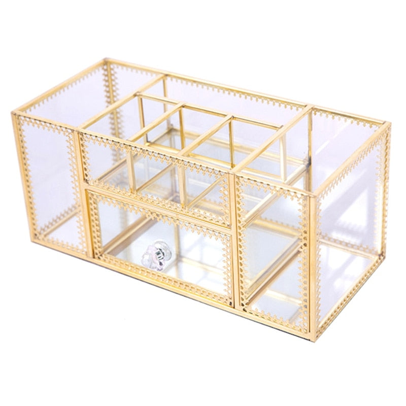 Golden Glass Box