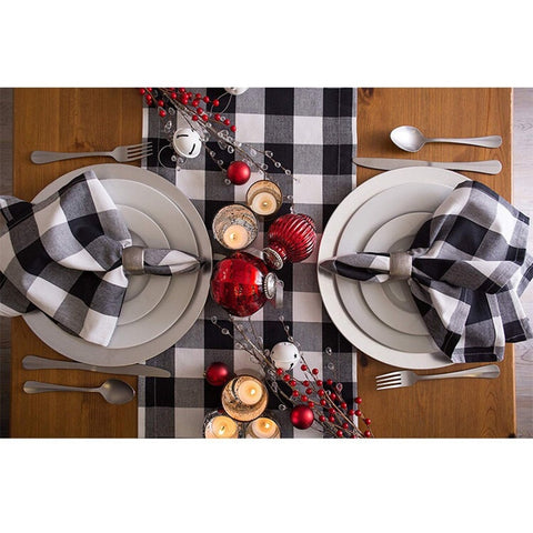 Plaid Table Runners